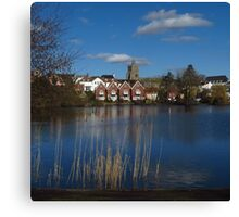 The Mere, Diss, Norfolk Canvas Print