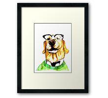 World's Smartest Dog Framed Print