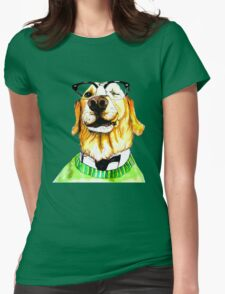 World's Smartest Dog Womens Fitted T-Shirt