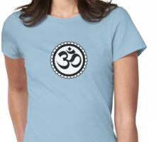 Yoga Ohm Sunflower Womens Fitted T-Shirt