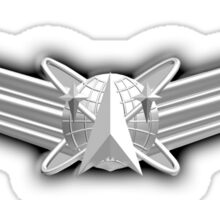 SPACE, Air Force, Basic, Space Operations Badge, US, USA, America, American Sticker
