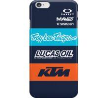 Team TLD KTM iPhone Case/Skin
