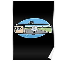 rearview mirror Poster