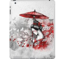 Falling blossoms iPad Case/Skin