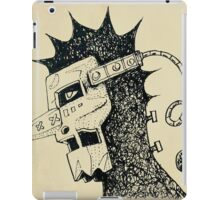 man iron mask iPad Case/Skin