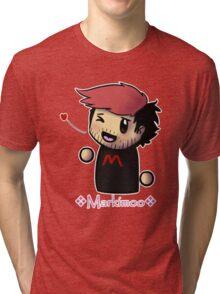 Markiplier - Red - Fan items! Tri-blend T-Shirt