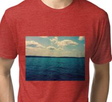 On the water Tri-blend T-Shirt
