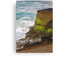 Surf & Cliff Canvas Print