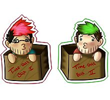 Septiplier-in-a-box Fan Items 3! Photographic Print