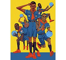 Kevin Durant Comic Photographic Print