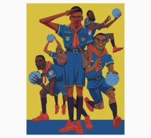 Kevin Durant Comic Baby Tee