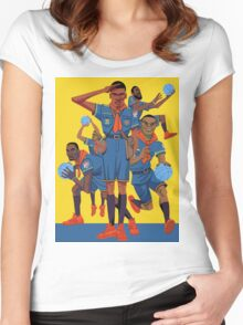 Kevin Durant Comic Women's Fitted Scoop T-Shirt
