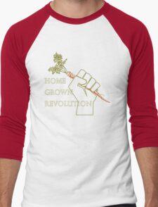 Home Grown revolution Fist of Solidarity  Men's Baseball ¾ T-Shirt