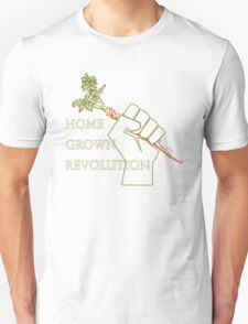 Home Grown revolution Fist of Solidarity  Unisex T-Shirt