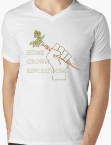 Home Grown revolution Fist of Solidarity  Mens V-Neck T-Shirt
