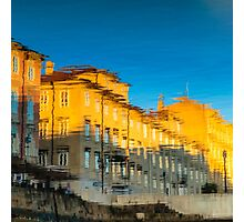 colorful sunset in Trieste Photographic Print