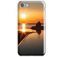 couple watching a romantic sunset iPhone Case/Skin