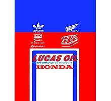 Team TLD Honda Photographic Print