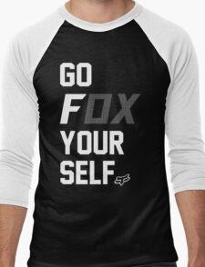Go Fox your self Men's Baseball ¾ T-Shirt