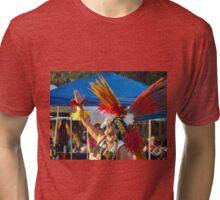 Aztec Dancer Tri-blend T-Shirt