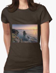 Treyarnon,North Coast of Cornwall Womens Fitted T-Shirt