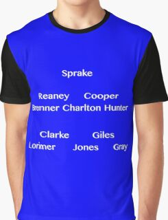 Team Sheet Graphic T-Shirt