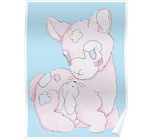 Snuggle 'Paca Poster