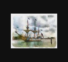 Tallship Watercolor Unisex T-Shirt