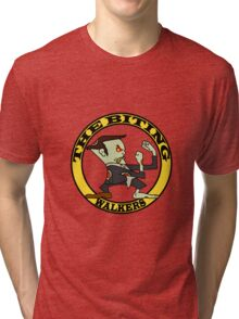 The Fighting Walkers with Logo Tri-blend T-Shirt