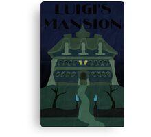 The Mansion - Luigi's Mansion Canvas Print