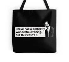 Groucho quote Tote Bag