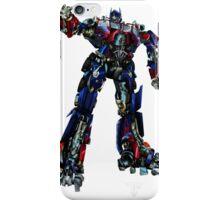 Movie Optimus Prime Blueprint iPhone Case/Skin