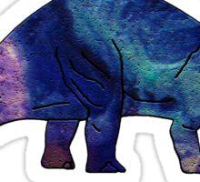 Dinosaur Brontosaurus 10K Sticker