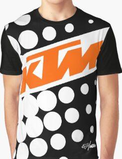 KTM Polka Graphic T-Shirt