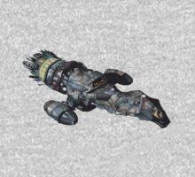 Firefly Serenity Space Ship Kids Tee