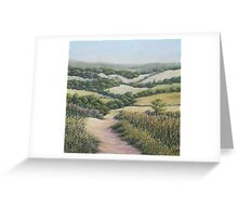 Path to Newlands Corner, Surrey Hills Greeting Card
