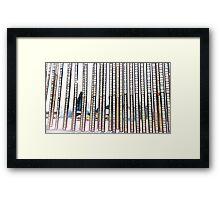 Strips of Film Framed Print