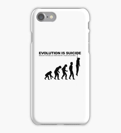 Evolution is Suicide iPhone Case/Skin