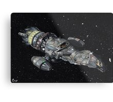 Firefly Serenity Space Ship! Metal Print