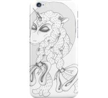 Peaceful Unicorn  iPhone Case/Skin