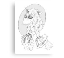 Peaceful Unicorn  Canvas Print
