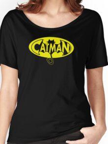 cat man Women's Relaxed Fit T-Shirt
