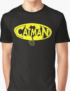 cat man Graphic T-Shirt