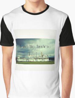 Historical Yukon Ship Graphic T-Shirt