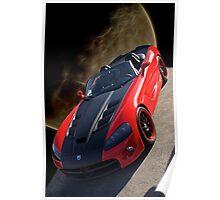 20XX Dodge Viper 'Moon Walk' Poster
