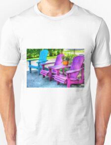 Empty Chairs Unisex T-Shirt