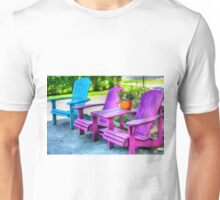 Empty Chairs Unisex T-Shirt