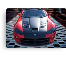 20XX Dodge Viper 'Winner Takes All' Canvas Print