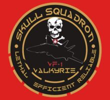 Skull Squadron Valkyrie One Piece - Long Sleeve