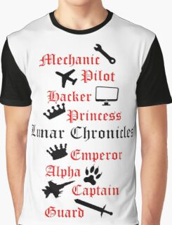 Lunar Chronicle characters Graphic T-Shirt